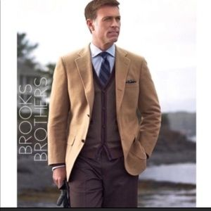 Brooks Brothers Camel's Hair Blazer